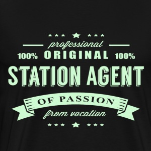Station Agent Passion T-Shirt - Men's Premium T-Shirt