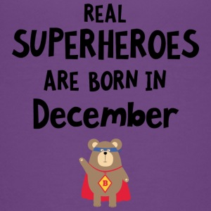 Superheroes are born in December Swq2z Kids' Shirts - Kids' Premium T-Shirt
