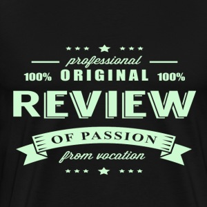 Review Passion T-Shirt - Men's Premium T-Shirt