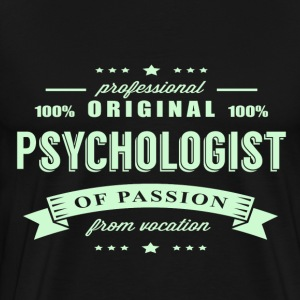 Psychologist Passion T-Shirt - Men's Premium T-Shirt