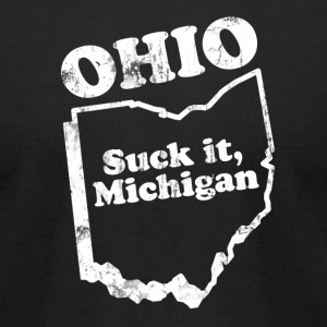 OHIO STATE SLOGAN T-Shirts - Men's T-Shirt by American Apparel