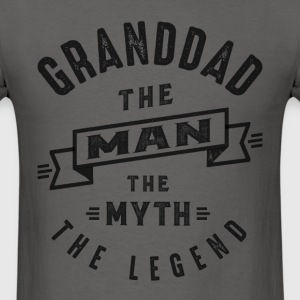 Granddad The Myth - Men's T-Shirt
