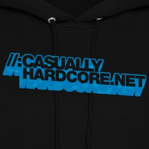 Casually Hardcore Pad Logo Hoodies - Women's Hoodie
