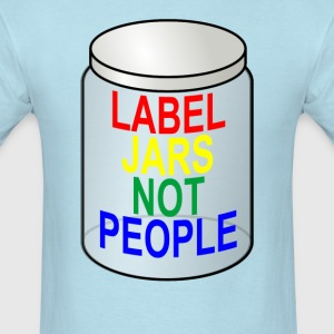 label_jars_not_people_ - Men's T-Shirt