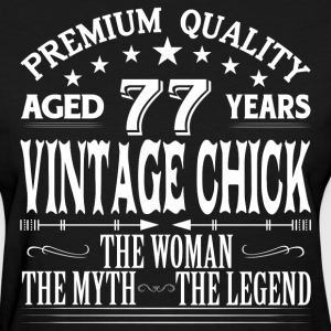 VINTAGE CHICK AGED 77 YEARS T-Shirts - Women's T-Shirt