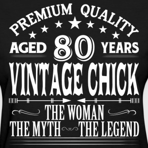 VINTAGE CHICK AGED 80 YEARS T-Shirts - Women's T-Shirt