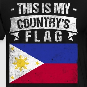 This is My Country's Flag Filipino Flag Day Shirt T-Shirts - Men's Premium T-Shirt