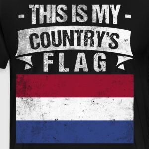 This is My Country's Flag Scandinavian Flag Day  T-Shirts - Men's Premium T-Shirt