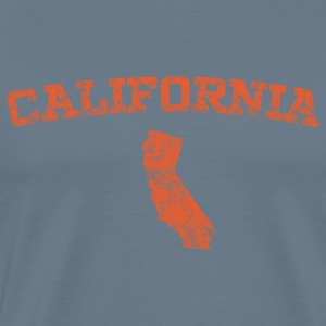 California Retro State Design - Men's Premium T-Shirt