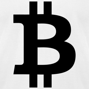 Bitcoin T-Shirts - Men's T-Shirt by American Apparel