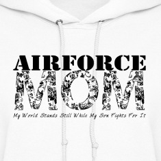 Air Force Mom MY WORLD STANDS STILL (SON)