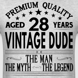 VINTAGE DUDE AGED 28 YEARS T-Shirts - Men's T-Shirt