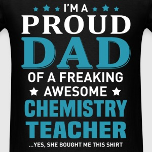 Chemistry Teacher's Dad - Men's T-Shirt