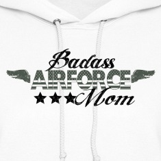 BAD ASS AIRFORCE MOM