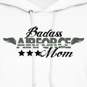 BAD ASS AIRFORCE MOM - Women's Hoodie