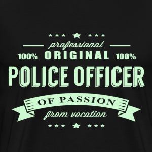 Police Officer Passion T-Shirt - Men's Premium T-Shirt