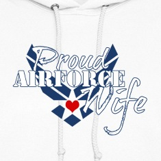 Patriotic Proud Air Force Wife Insignia