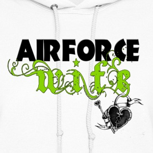 Air Force Wife - Women's Hoodie