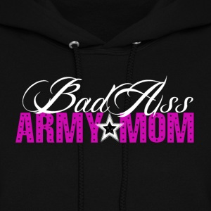 BAD ASS Army Mom - Women's Hoodie