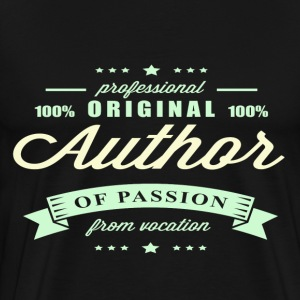 Author Passion T-Shirt - Men's Premium T-Shirt