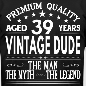 VINTAGE DUDE AGED 38 YEARS T-Shirts - Men's T-Shirt by American Apparel