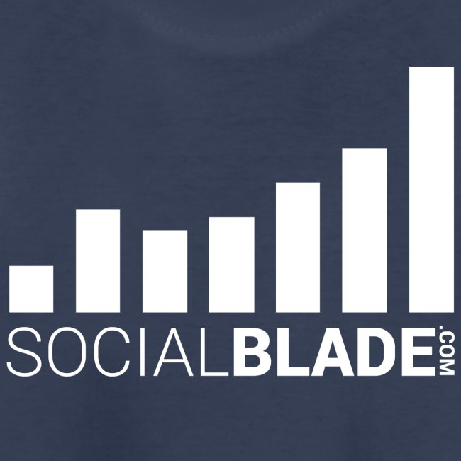 Social Blade 2017 - Youth (Navy Simple)