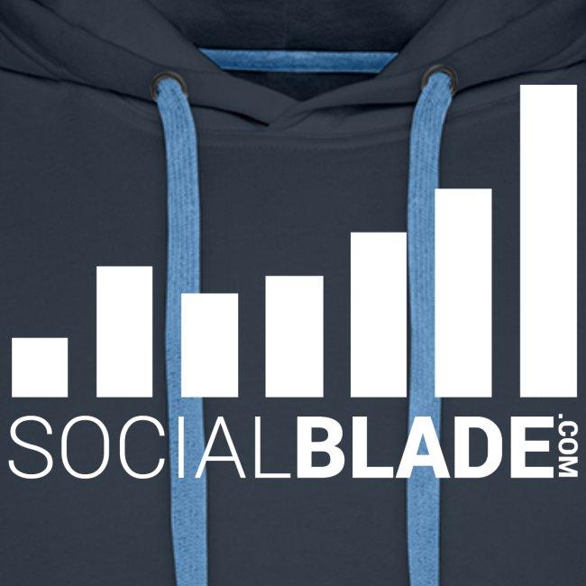 Social Blade 2017 - Hoodie (Navy)