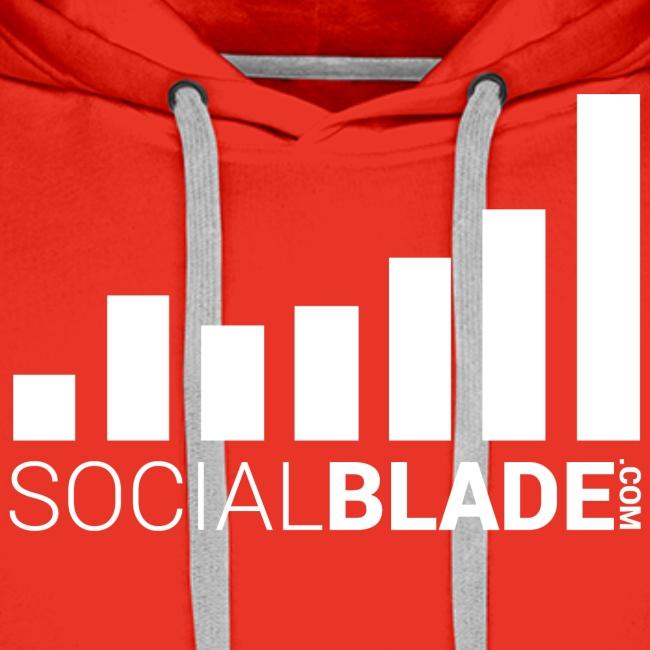 Social Blade 2017 - Hoodie (Red)