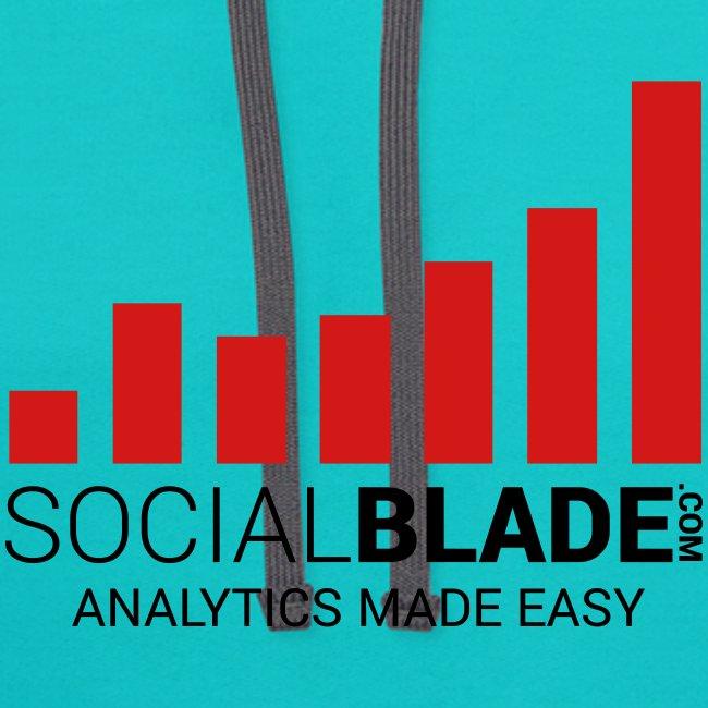 Social Blade 2017 - Hoodie Colored (Scuba)