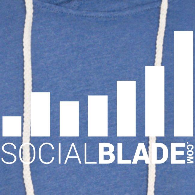 Social Blade (2017) - Unisex Hoodie (Heather Blue)