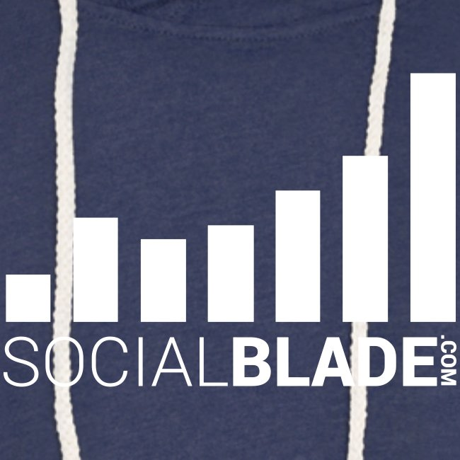 Social Blade (2017) - Unisex Hoodie (Charcoal Gray)