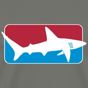 league_shark x_vec_3 us T-Shirts - Men's Premium T-Shirt