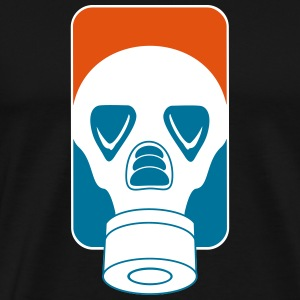 league_gas mask_vec_3 us T-Shirts - Men's Premium T-Shirt