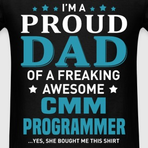CMM Programmer's Dad - Men's T-Shirt