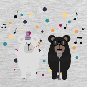 Singing Party Bears Sv6kj Sportswear - Men's Premium Tank
