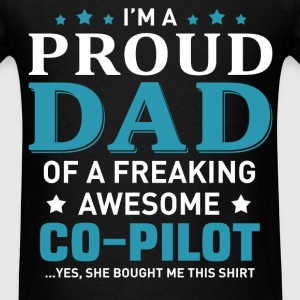 Co-Pilot's Dad - Men's T-Shirt