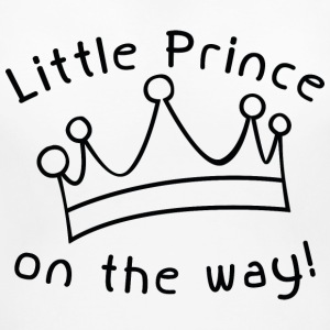 Little Prince On The Way - Women's Maternity T-Shirt