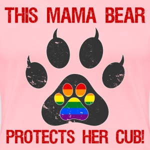 LGBT Pride For Moms - Women's Premium T-Shirt