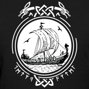 Viking Ship Boat T-Shirts - Women's T-Shirt