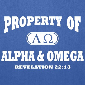 Alpha Omega Bags & backpacks - Tote Bag