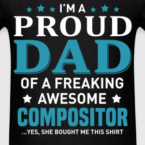 Compositor's Dad - Men's T-Shirt
