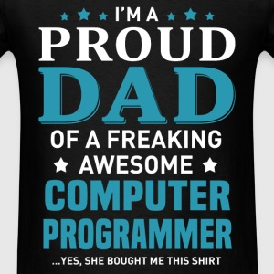 Computer Programmer's Dad - Men's T-Shirt