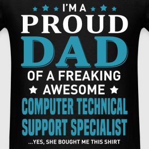 Computer Technical Support Specialist's Dad - Men's T-Shirt