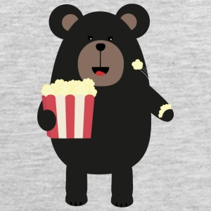 Black bear eating Popcorn S0sfd Sportswear - Men's Premium Tank