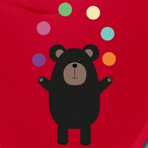 Black Bear juggling Sl0gc Caps - Bandana