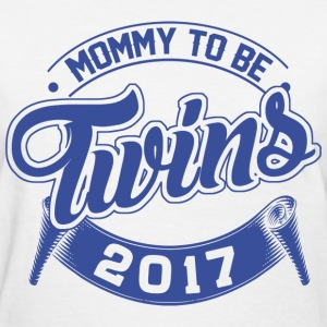 Mommy To Be Twins 2017 T-Shirts - Women's T-Shirt