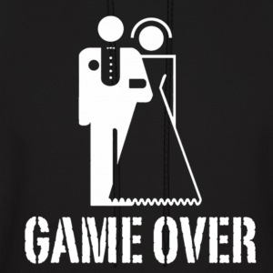 Game Over Marriage Design Hoodies - Men's Hoodie