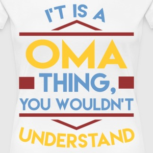 OMA 1A.png T-Shirts - Women's Premium T-Shirt