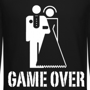 Game Over Marriage Design Long Sleeve Shirts - Crewneck Sweatshirt