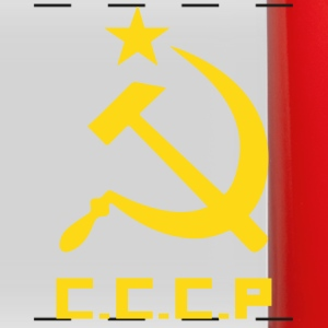 Communist Flag C.C.C.P Hammer & Sickle - Full Color Panoramic Mug